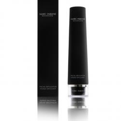 Tube Black Exfoliator van Marc Inbane met verpakking