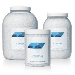 potten magnesium kristallen in verschillende hoeveelheden