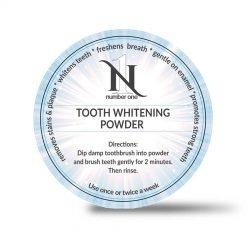 Doosje tooth whitening poeder van Number One