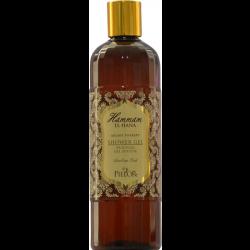 fles Hammam El Hana shower gel uit de Arabian Oud serie van Pielor