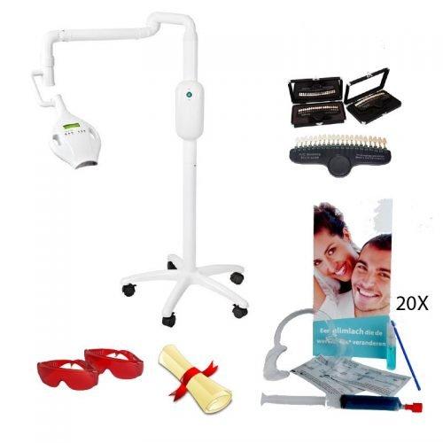 Startpakket met tandenbleeklamp Premium Pro